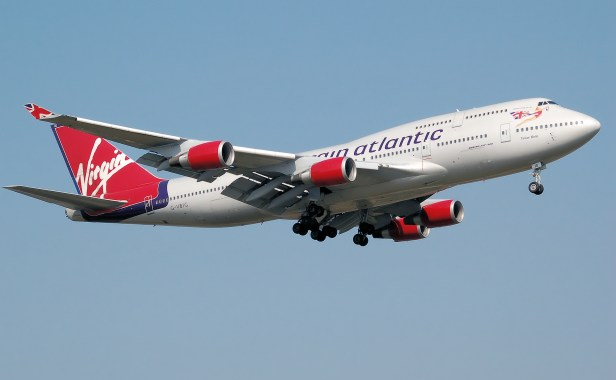Virgin 3 Atlantic branson
