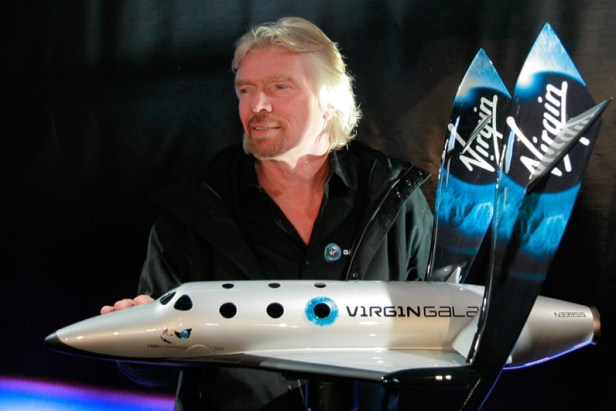 Virgin Galactic brandson 5