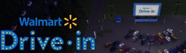 Walmart Drive in 10