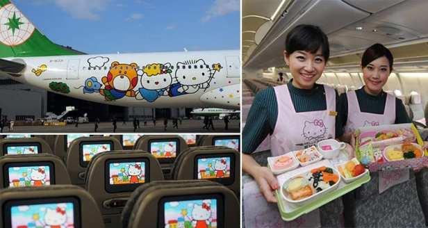 Eva Air Kitty 5