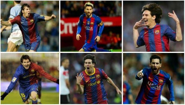 Messi y 2