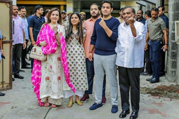 Mukesh Family
