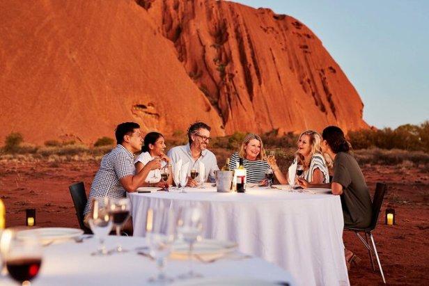 ผา Uluru Qantas