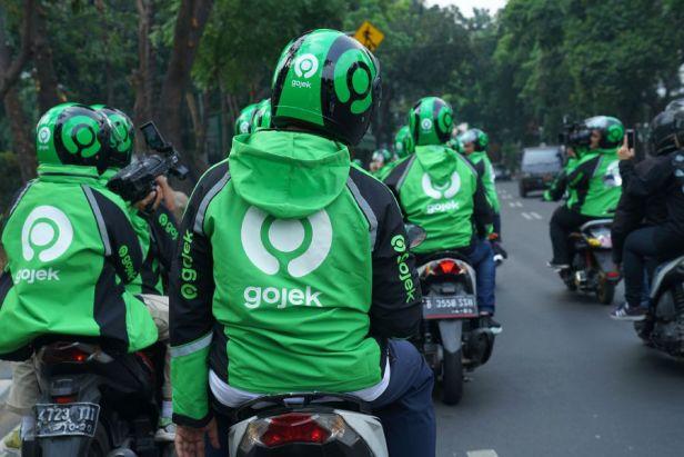 Gojek logo อินโด