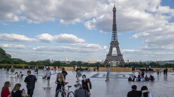 Covid Eiffel 2 ฝรั่งเศส