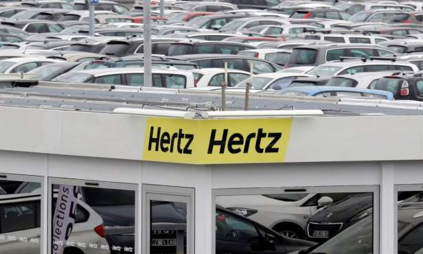 hertz 2 ล้มละลาย