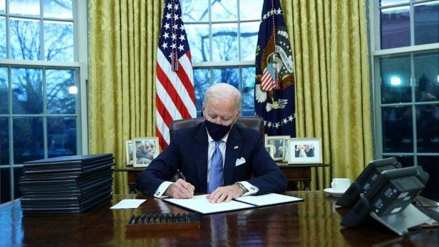 Biden First day