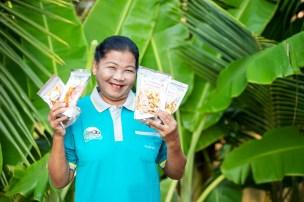ผลผลิตจากโครงการชุมชนพลังเกษตรสร้างสุขสยามคูโบต้า