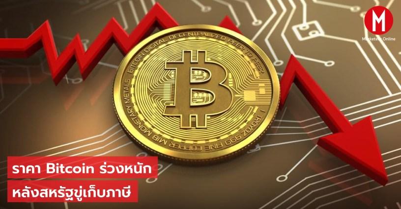 Bitcoin ร่วง