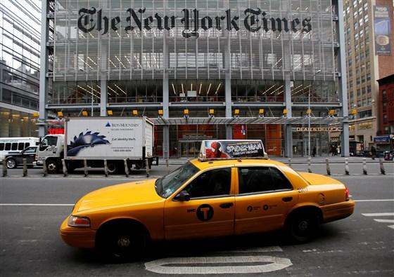NY Times Washington Post