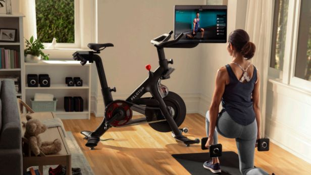 Superfit from home Peloton