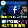 Buy negative facebook reviews