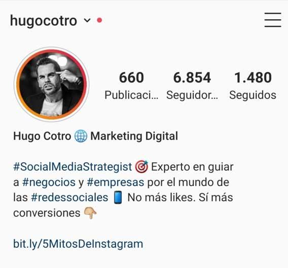 Astuces pour votre profil instagram