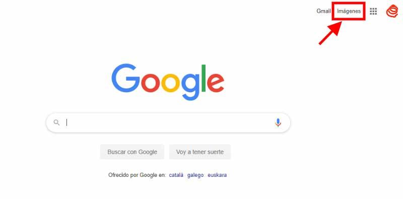Buscar imagenes en Google