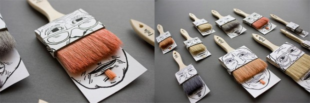 El-moustache-Packaging-de-la-Brocha-innovador-envase