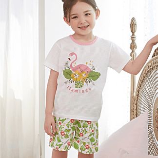Olomimi Flamingo Kid Pyjamas