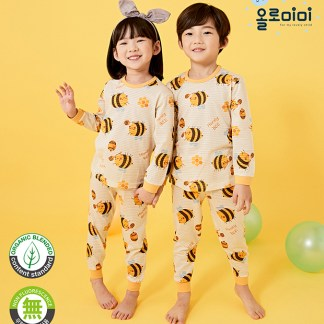 Olomimi Bee Kid Pyjamas Set