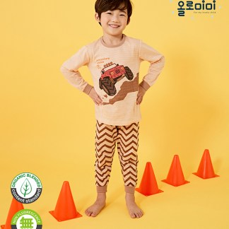 Olomimi Adventure Truck Kid Pyjamas Set