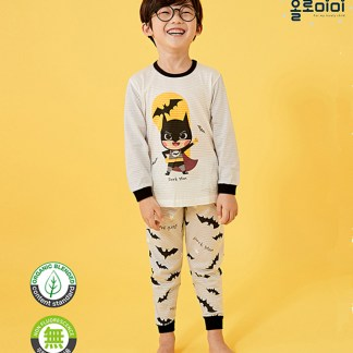 Olomimi Dark Man Kid Pyjamas Set
