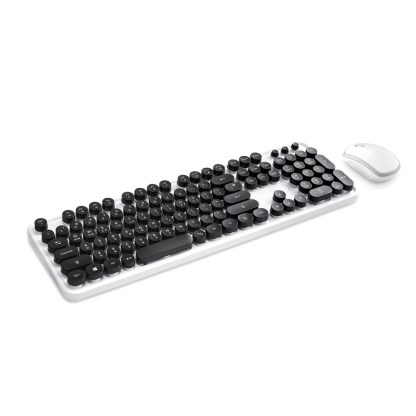 Actto Retro Keyboard with Mouse