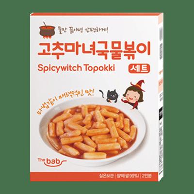 Thebab Spicywitch Rice Topokki (Original)