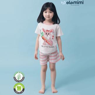 Olomimi My Little Bunny Kid Pyjamas Set