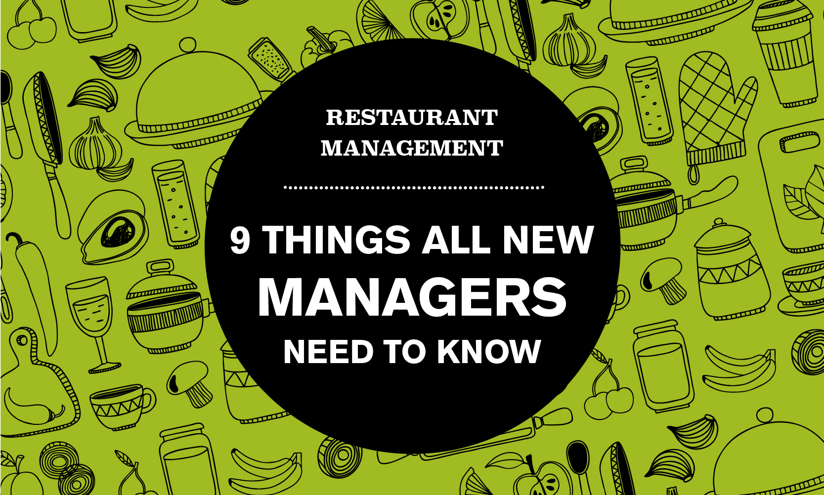Restaurant Management Tips What Every New Manager Needs