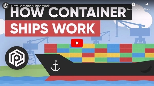 How Conatiner Ships Work