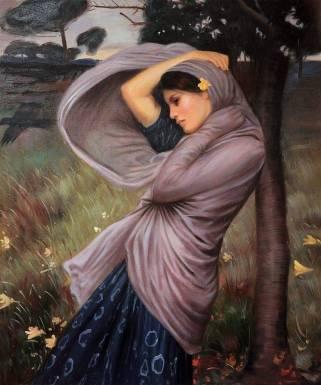 Woman in a Cloak