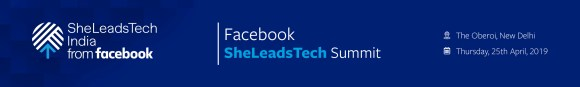 SheLeads Tech Summit Banner