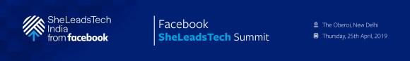 SheLeads Tech Summit Banner