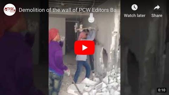 Demolition in BKK Condo
