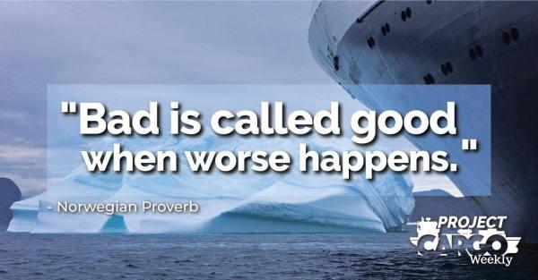 Week 15 proverb of the week