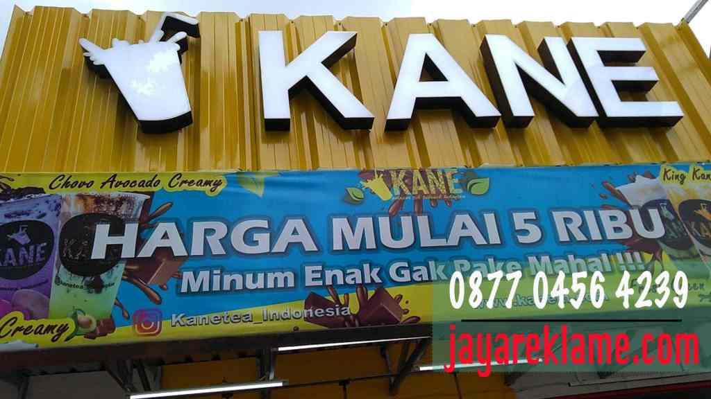 Pasang Neon Box Timbul - 0877 0456 4239