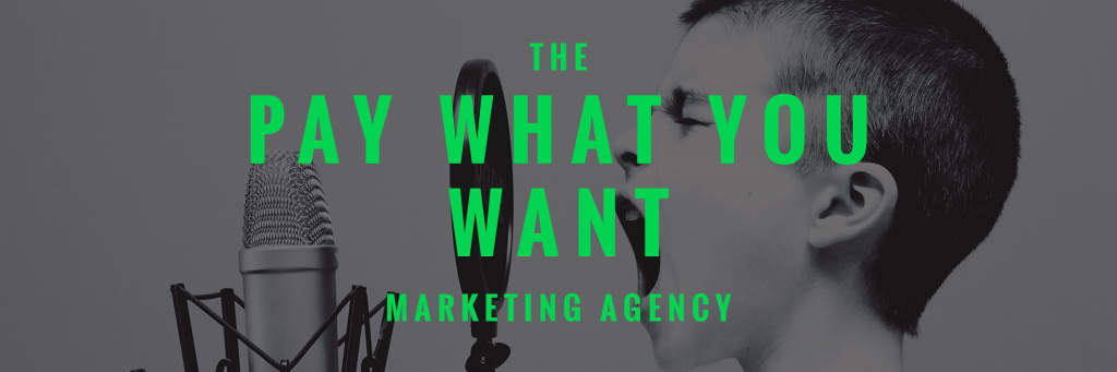 Pay-what-you-want-marketing