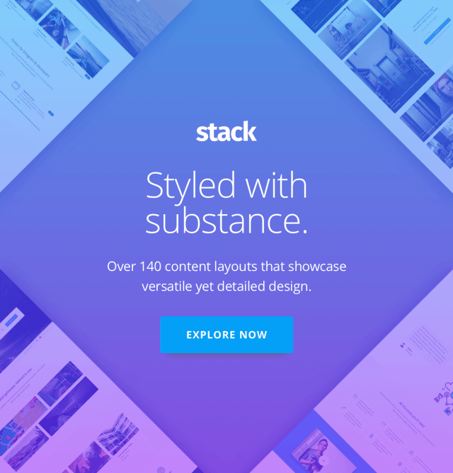 Stack - Multi Purpose HTML with Page Builder - 2