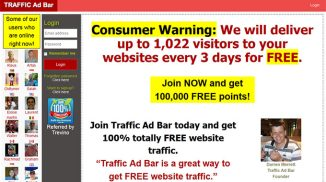 Trafficadbar – Not an Ordinary Traffic Exchange