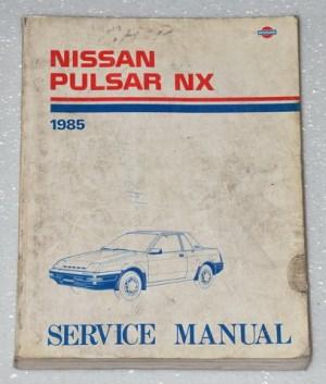 1985  NISSAN PULSAR NX Factory Shop Service Repair Manual