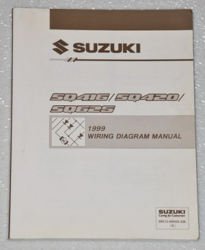 1999 Suzuki Grand Vitara Vitara Factory Electrical Wiring