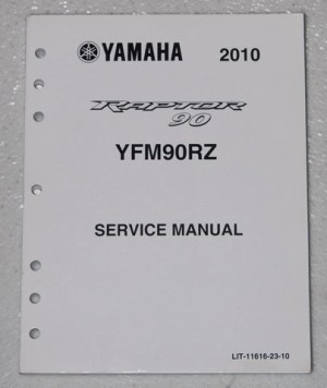 2010 YAMAHA RAPTOR 90 ATV Service Manual YFM90RZ Factory