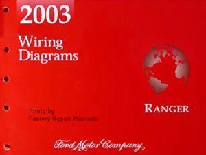 2003 Ford Ranger Electrical Wiring Diagrams