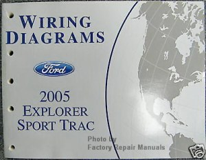 2005 Ford Explorer Sport Trac Electrical Wiring Diagrams