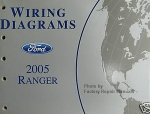2005 Ford Ranger Pickup Truck Electrical Wiring Diagrams Original Factory Manual  Factory
