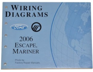 2006 Ford Escape Mercury Mariner Electrical Wiring
