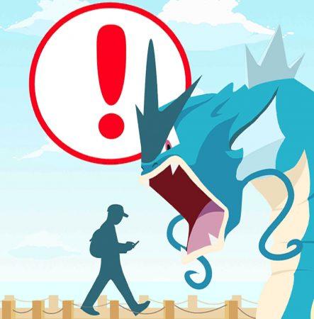 Pokemon go cuidado
