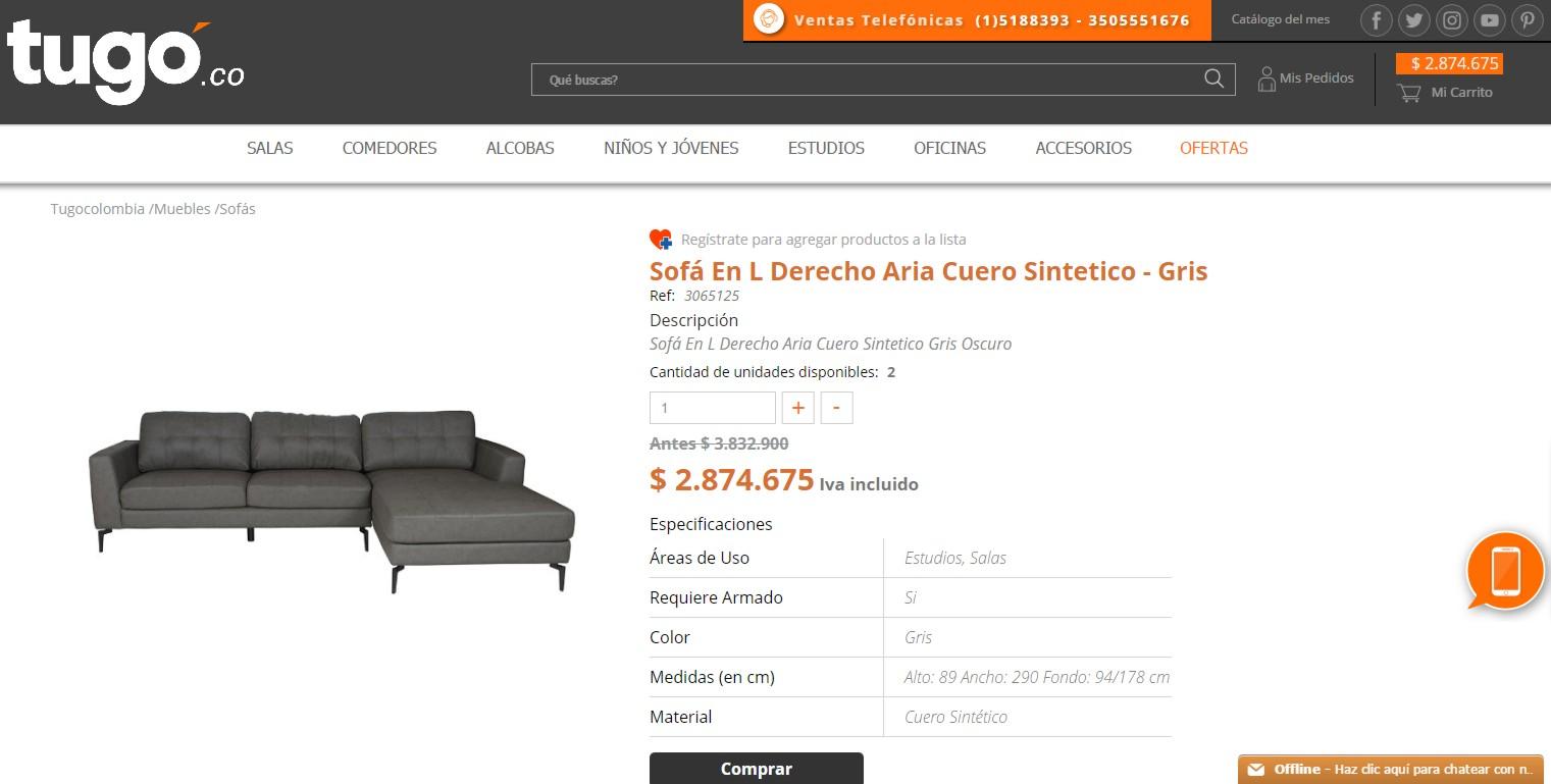 Tug Opiniones Y Valoraci N # Muebles Tugo Barranquilla Direccion