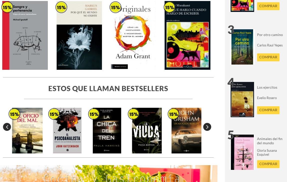 Librería Lerner catálogo