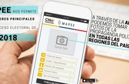 Mapee: una aplicación móvil que sirve para controlar la publicidad de los candidatos