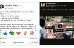 Así son las nuevas funciones de LinkedIn: cada vez más parecida a Instagram y Facebook