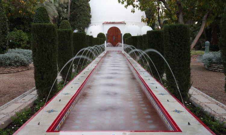 Los chorricos del parque de Elche. Visita obligada.